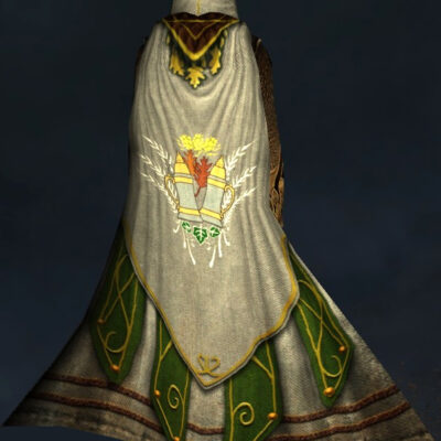 Harvest-Brew Hooded Cloak - Back Cosmetic