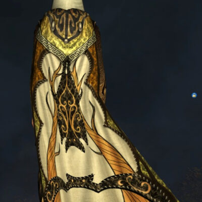 Spooky Hooded Cloak of the Bat - Back Cosmetic - LOTRO Fall Festival