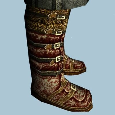 Snow-Dusted Travelling Boots Cosmetic