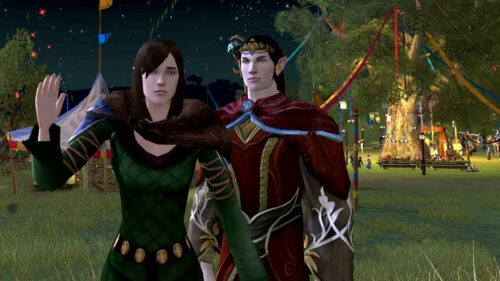 One of my LOTRO Questing Duos, Ayrthir and Glirheryn