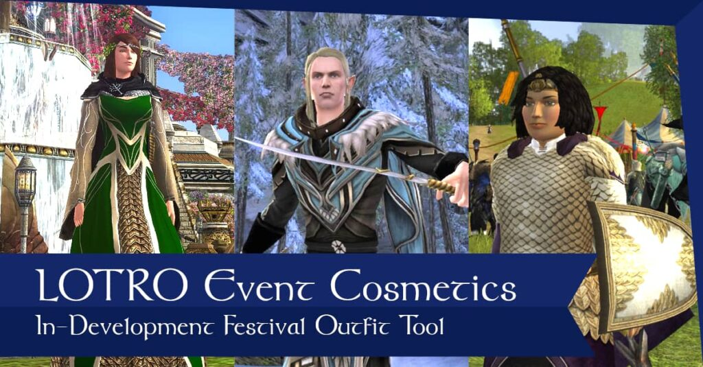 LOTRO Events and Festival Cosmetics Database and Tool