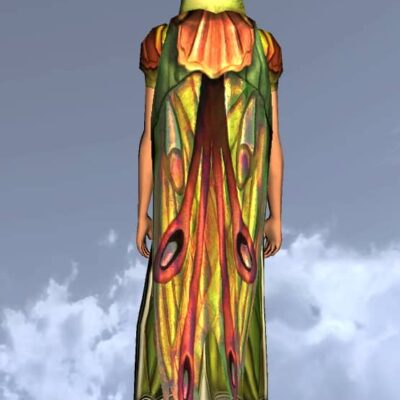 Hooded Cloak of the Moth - LOTRO Spring Festival Back Cosmetic