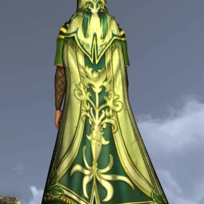 Lissuin Hooded Cloak - LOTRO Spring Festival Back Cosmetic