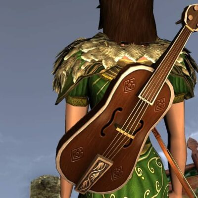 Lonely Mountain Fiddle - Musical Instrument and Cosmetic Weapon - LOTRO Spring Festival