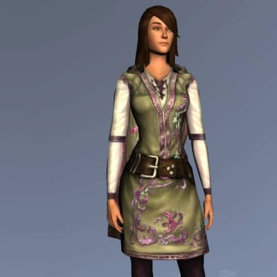 Simbelmynë Tunic and Trousers - Spring Festival Upper Body Cosmetic