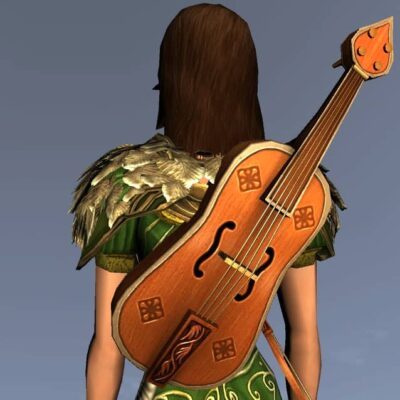 Sprightly Fiddle - Musical Instrument and Cosmetic Weapon - LOTRO Spring Festival