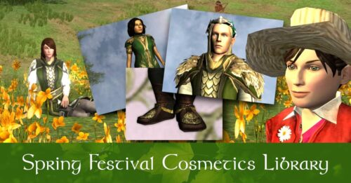 LOTRO Spring Festival Outfit Cosmetics - Screenshot Pictures to Help You