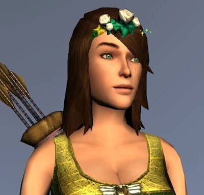White Rose Circlet - Spring Festival Head Cosmetic