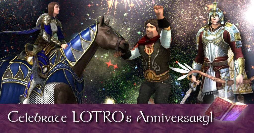 LOTRO's Anniversary Event 2021 Guide is here! Full of mounts, cosmetics, pets - and even new info on torches and how to complete the daily!