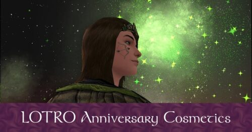 LOTRO Anniversary Event Cosmetics List and Library