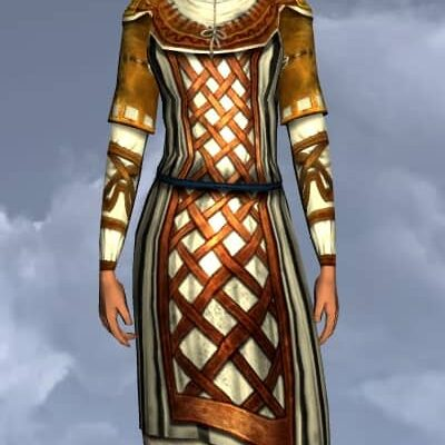 LOTRO Banded Hauberk - Anniversary Upper Body Cosmetic (Steel Tokens)