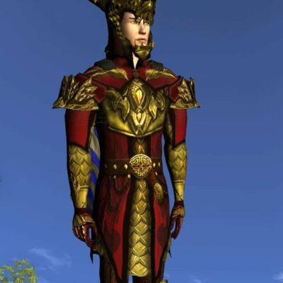 Breastplate of the Unflagging Dragon, LOTRO Anniversary Upper Body Cosmetic