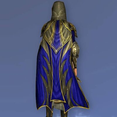 LOTRO Ceremonial Hooded Cloak of Remembrance - Anniversary Back Cosmetic