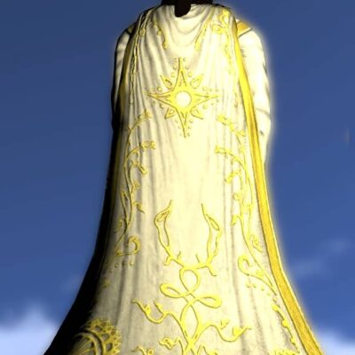 LOTRO Cloak of the Shining Star - Anniversary Back Cosmetic