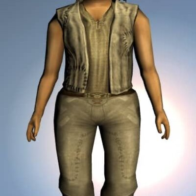 LOTRO Common Waistcoat - Anniversary Upper Body Cosmetic (Steel Tokens)