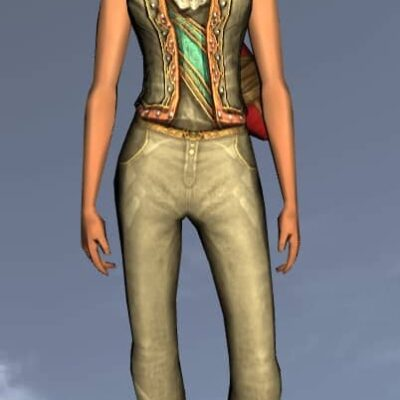 LOTRO Fine Waistcoat - Anniversary Upper Body Cosmetic (Steel Tokens)