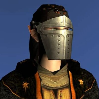 LOTRO Firework-Launcher's Face Guard - Anniversary Head Cosmetic