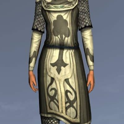 LOTRO Forester's Hauberk - Anniversary Upper Body Cosmetics (Steel Tokens)