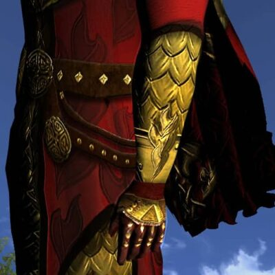 LOTRO Gloves of the Unflagging Dragon - Anniversary Hand Cosmetic