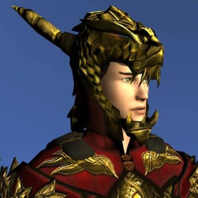 LOTRO Helm of the Unflagging Dragon - Anniversary Head Cosmetic