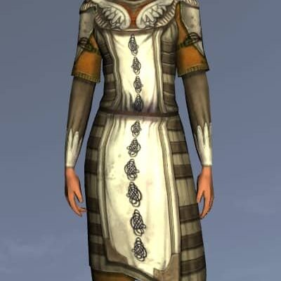 LOTRO Mariner's Hauberk - Anniversary Upper Body Cosmetic (Steel Tokens)