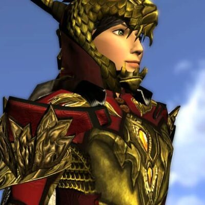 LOTRO Pauldrons of the Unflagging Dragon - Anniversary Shoudlers Cosmetic