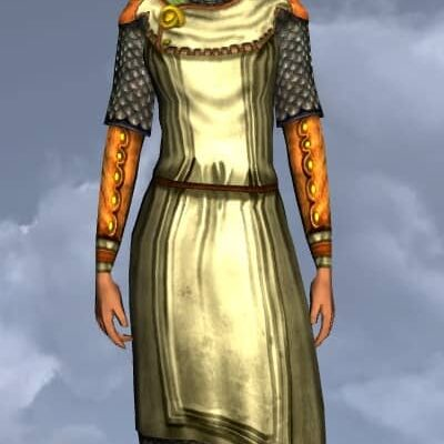LOTRO Plain Hauberk - Anniversary Upper Body Cosmetic (Steel Tokens)