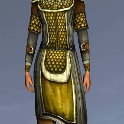 LOTRO Scaled Hauberk - Anniversary Upper Body Cosmetic (Steel Tokens)