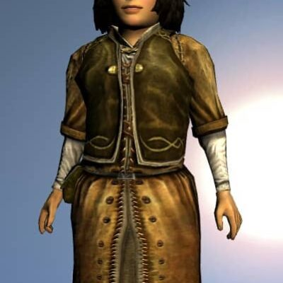 LOTRO Short Elven Robe - Anniversary Upper Body Cosmetic (Steel Tokens)