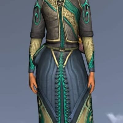 LOTRO Short Ranger's Robe - Anniversary Upper Body Cosmetic (Steel Tokens)