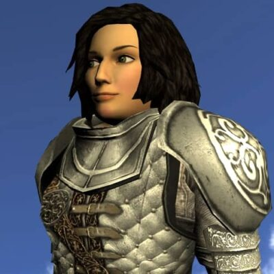 LOTRO Shoulderguards of the Storied Warrior - Anniversary Shoulder Cosmetic