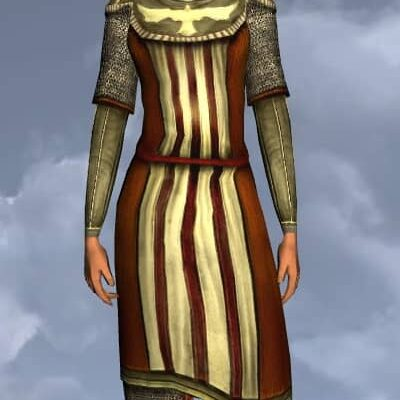 LOTRO Simple Hauberk - Anniversary Upper Body Cosmetic (Steel Tokens)