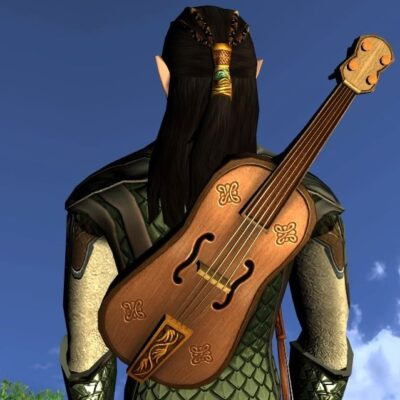 LOTRO Traveller's Trusty Fiddle - Anniversary Music Instrument and Cosmetic Weapon