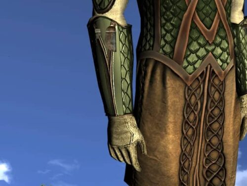 LOTRO Wrist-Guards of the Waking Woods - Anniversary Hands Cosmetic