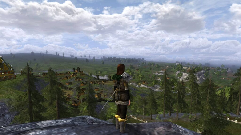 View from 7 Ridge Road Eastfold Hills Housing Area, LOTRO