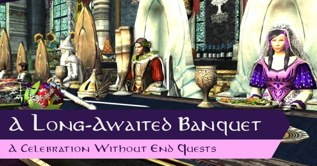 LOTRO A Long-Awaited Banquet Quests - A Celebration without End, Midsummer