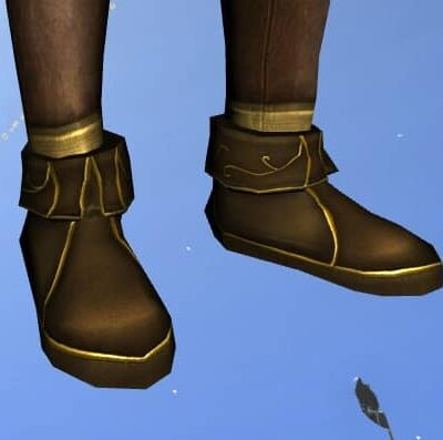 LOTRO Boots of Entwining Blossoms - Midsummer Feet Cosmetics