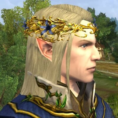 Circlet of Entwining Blossoms - LOTRO Midsummer 2021 Head Cosmetic