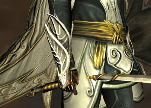 LOTRO Gauntlets of the HIdden Paths - White Dye