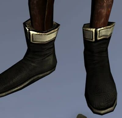 Groom's Boots on a Female High Elf
