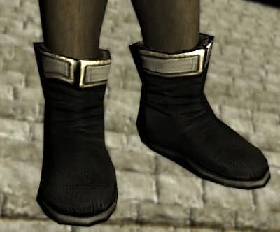 Groom's Boots on a Male High Elf