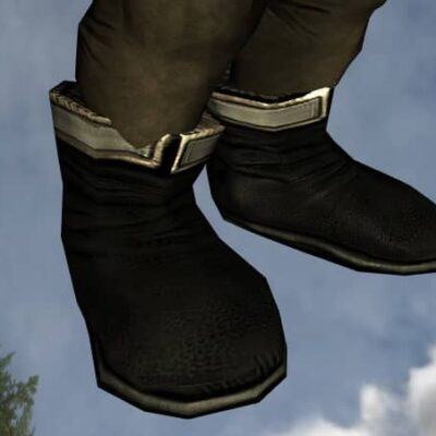 Groom's Boots on a Male Hobbit