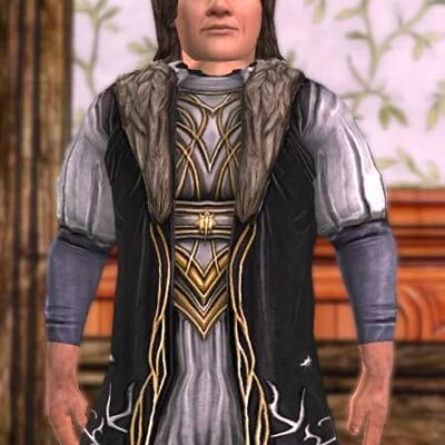 Groom's Tunic on a Male Hobbit
