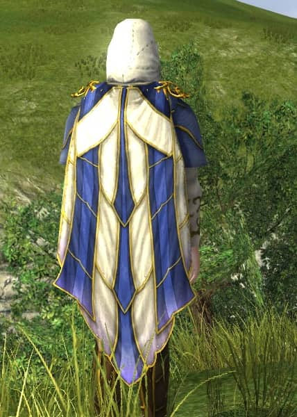 Hooded Cloak of Entwining Blossoms - LOTRO Midsummer 2021 Back Cosmetic