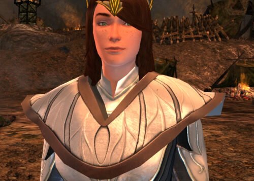 LOTRO Shoulders of the Waking Woods - White Dye