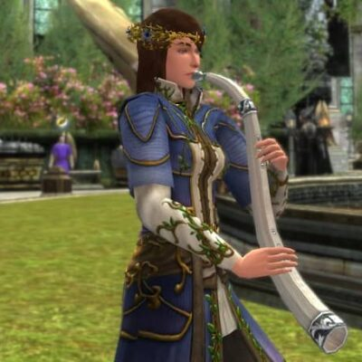 LOTRO Summer Celebration Horn - Midsummer Musical Instrument / Cosmetic Weapon