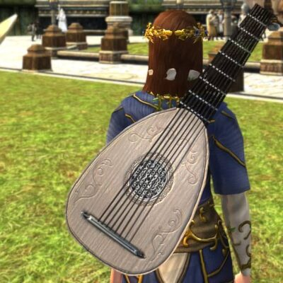 LOTRO Summer Celebration Lute - Midsummer 2021 Musical Instrument / Cosmetic Weapon