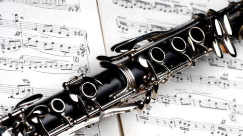 Clarinet with some sheet music - Pixabay credit