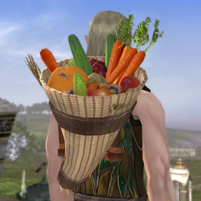 LOTRO Pack of the Yield - Farmer's Faire Back Cosmetic