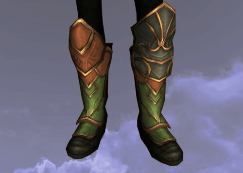 LOTRO Boots of the Green Grocer - Farmers Faire Feet Cosmetic